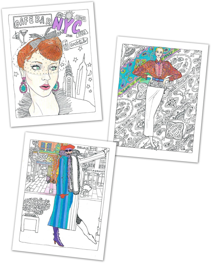 Color in Fashion Pages